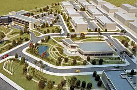 ガーナのテマにあるICTパークの完成図