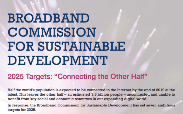 BROADBAND COMMISSION FOR SUSTAINABLE DEVELOPMENT